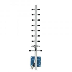 Усилитель сигнала Lintratek 1800 mHz (для 2G/4G) 65 dBi, кабель 10 м., комплект - 2