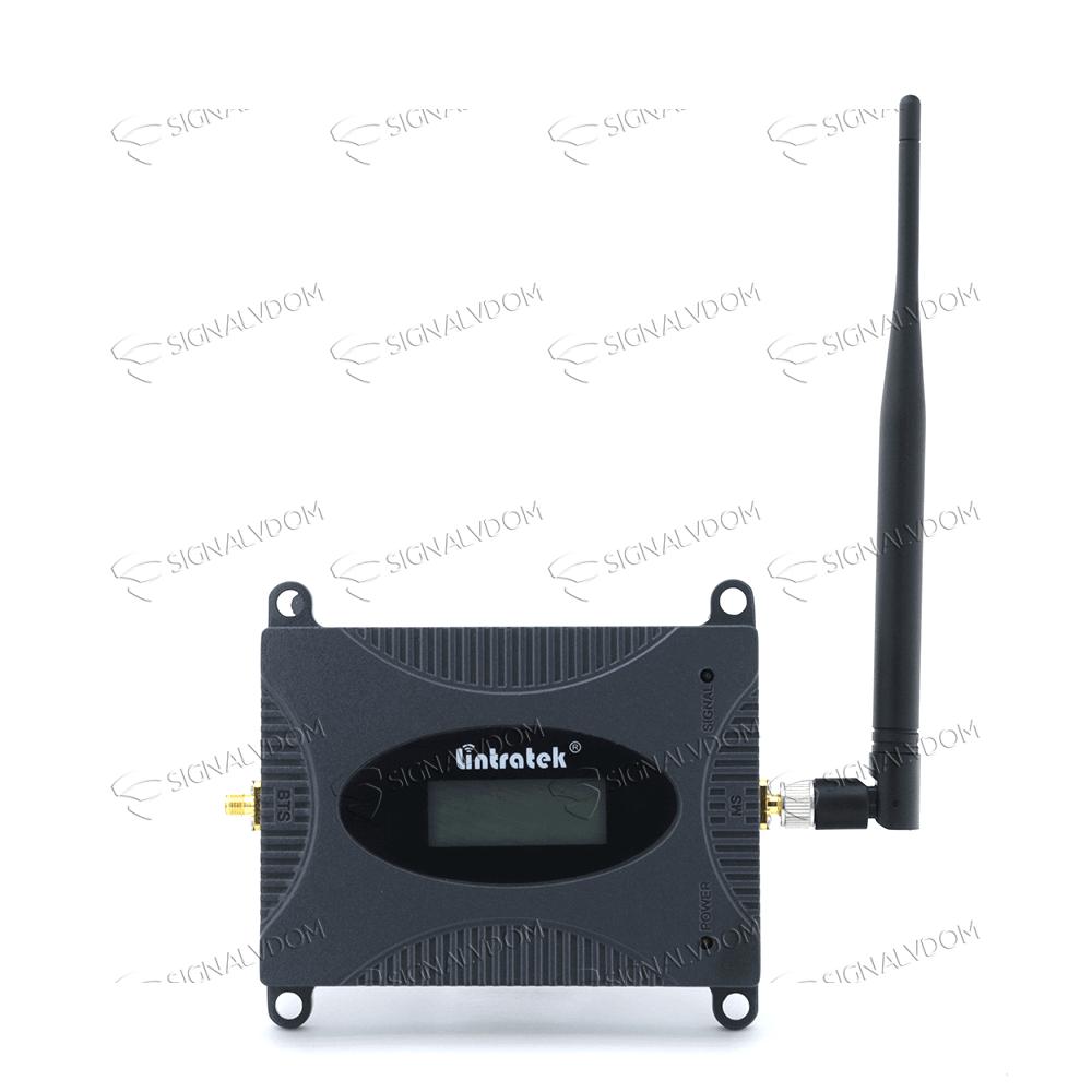Усилитель сигнала Lintratek 900 mHz (для 2G) 65 dBi, кабель 10 м., комплект - 4
