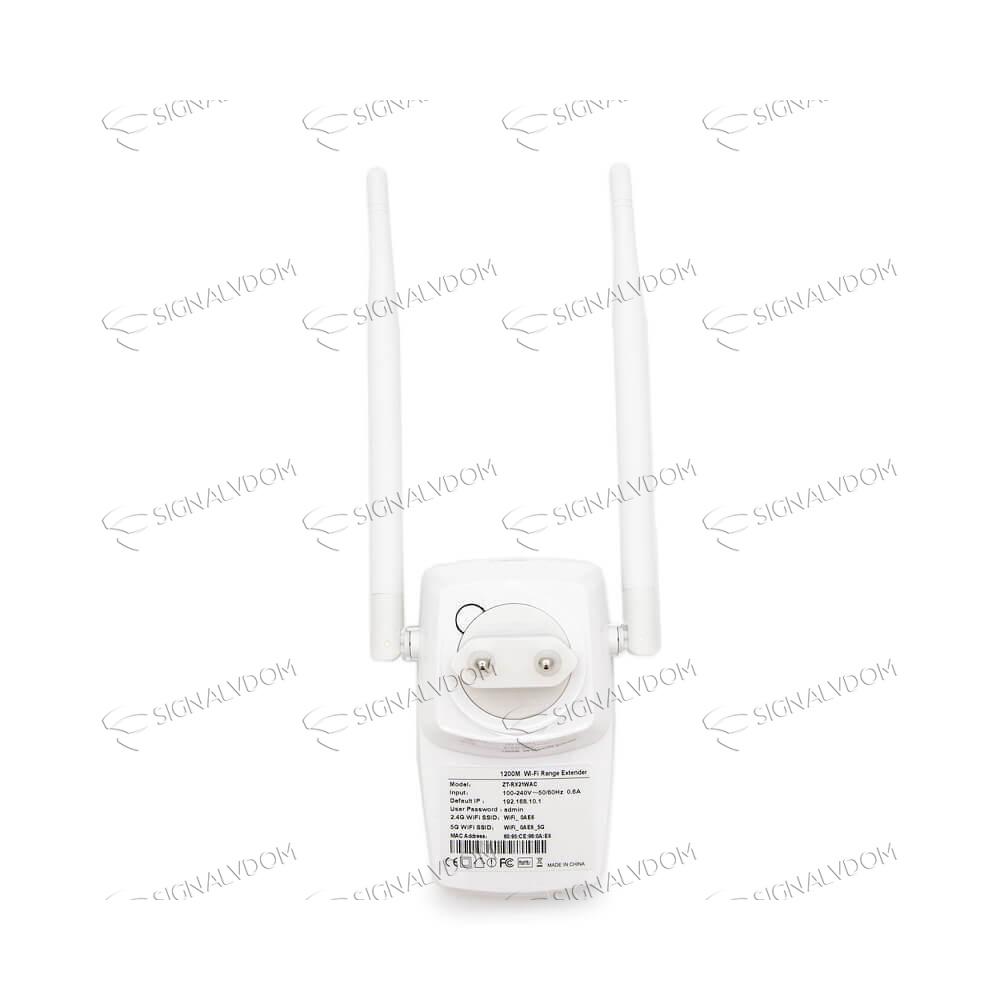 Усилитель Wi-Fi усилитель сигнала JLZT 2 антенны 2.4GHz+5GHz - 3