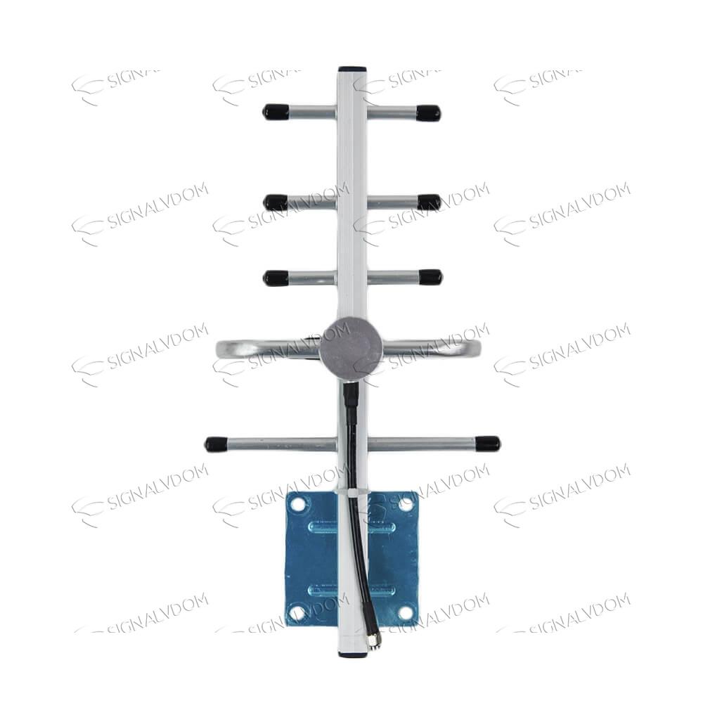 Усилитель сигнала Lintratek 2100 mHz (для 3G) 65 dBi, кабель 10 м., комплект - 2