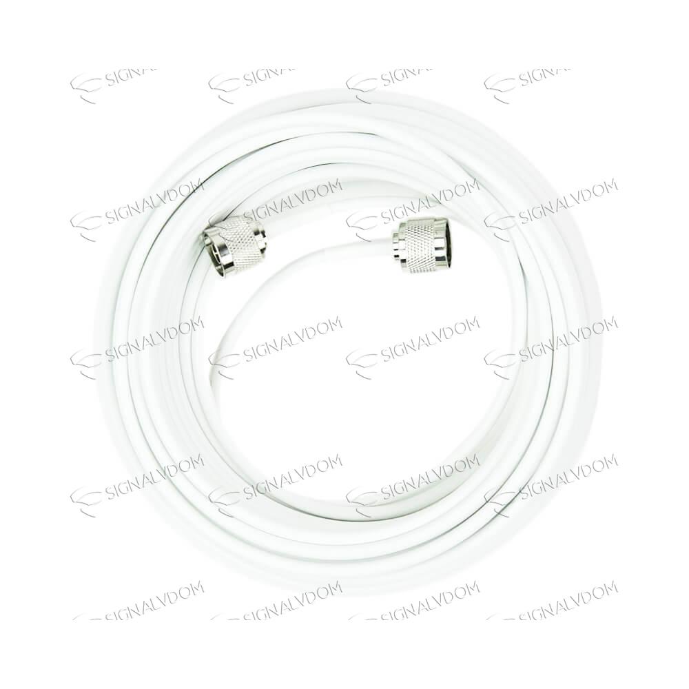 Усилитель сигнала связи Wingstel Premium 900/1800/2100/2600 MHz (для 2G/3G/4G) 65 dBi, кабель 15 м., комплект - 6